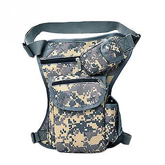 Men Canvas Drop Leg Bag Waist Fanny Pack Belt Hip Bum Military Travel