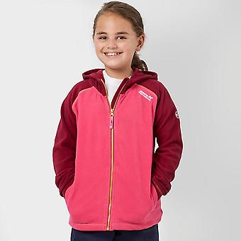 New Regatta Girl's Upflow Winter Wear Long Sleeve Fleece Pink