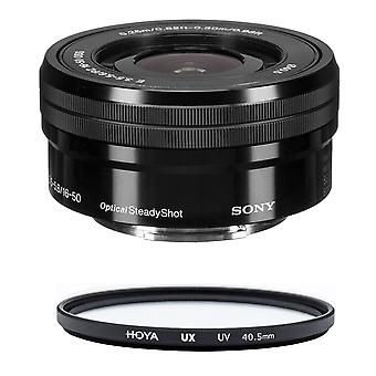 SONY SEL 16-50MM F3.5-5.6 OSS Black (WHITE BOX) + HOYA UX UV 40.5mm Filter