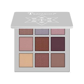 Metallic Eyeshadow Powder Palette, Nude Glitter Eyeshadow Makeup Tslm1