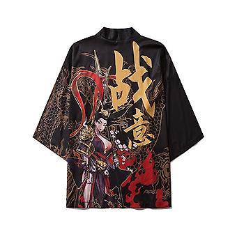 Japanische Kimono Strickjacke Männer