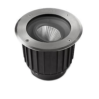 Spot Gea Cob Led, 9w, Empotrado, Acero Inoxidable, Aluminio Y Vidrio