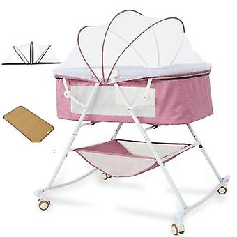 Children Beds And Crib Cradle Portable Multifunctional Comforting Mosquito Net
