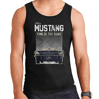 Ford Mustang King Of The Road Quote Men's Vest