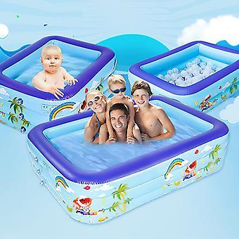 ילד שחייה בריכת מים לשחק בריכות מתנפחות שכבה כפולה בועה מוצקה באיכות גבוהה מים מתנפחים לשחק אמבטיה בבריכה