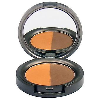 Beauty Without Cruelty Lidschatten Compact Mineral Duo Reiche Tamarinde