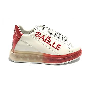 Shoes Women's Sneaker Gaëlle With Transparent White/ Red Background Ds21ge08 Gbds2272