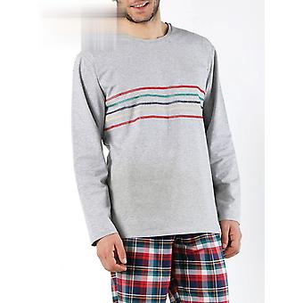 Sleepwear Σύνολο Νυχτικό Sleepshirts Νυχτικό Κορυφή Pant πιτζάμες