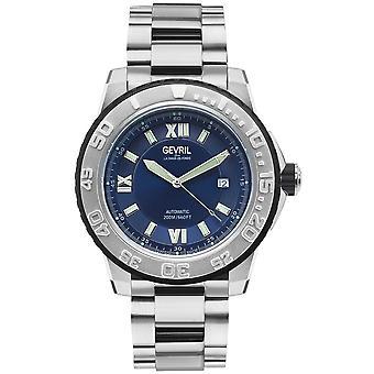 Gevril Seacloud Automatic Blue Dial Men's Watch 3120B