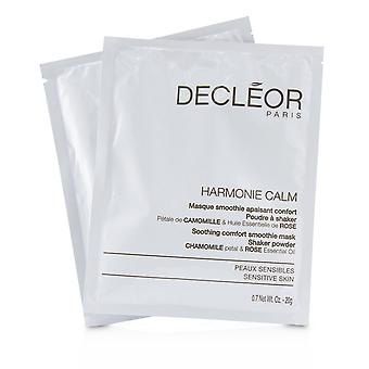 Harmonie calm soothing comfort smoothie mask shaker powder for sensitive skin (salon product) 235960 5x20g/0.7oz
