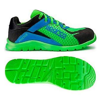 Veiligheidsschoenen Sparco Blauw/Groen