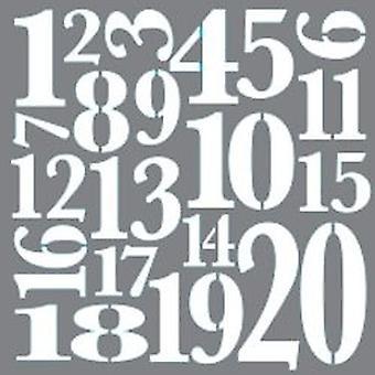 Decoart Mixed Media Stencil - Topp 20