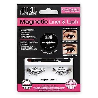 False Eyelashes Magnetic Demi Ardell
