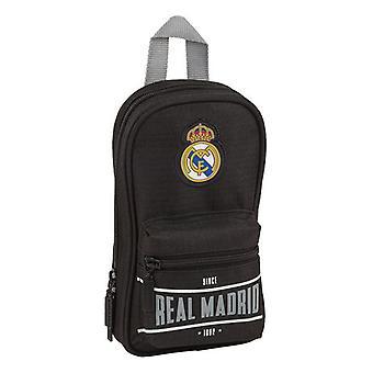Mochila Lápiz Caja Real Madrid C.F. 1902 Negro