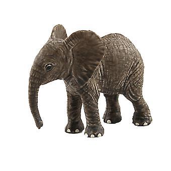 Modèle d'animal sauvage de parc animalier, simulation children's jouet d'éléphant
