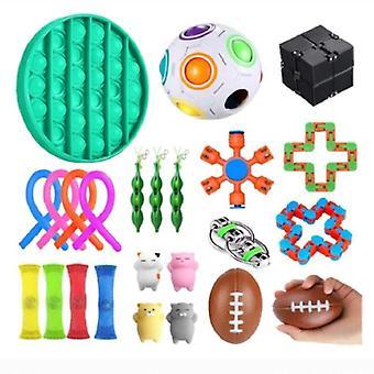 24pcs Pack Sensory Toy Set Antistress Relief Fidget Zabawki