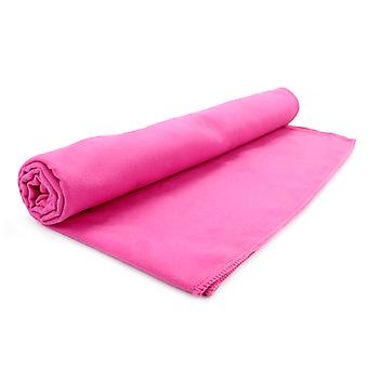 Quick Drying Microfiber Towel | Pukkr Pink Small (50x30cm)