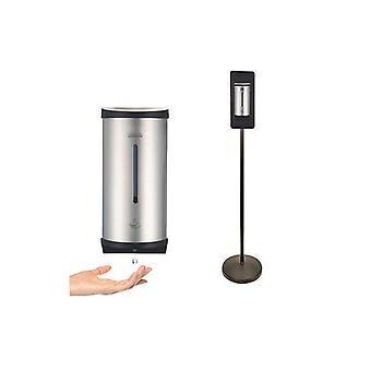 Dispensador automático de jabón sin contacto con soporte de piso
