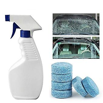 Windshield Solid Soap Piece Glass Washing Cleaning Effervescent Tablets