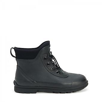 Muck Boots Original Lace Mens Neoprene/rubber Ankle Wellington Boots Black