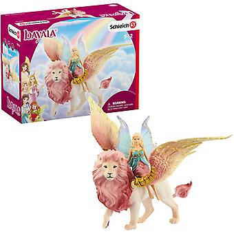 Fairy In Flight On Winged Lion USA import