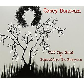 Casey Donovan - Off the Grid & Somewhere Inbetween [CD] USA import