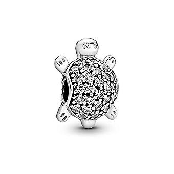 Pandora Tarvikkeet Naisten hopea 9 karat Kuutio Zirconia Makean veden kasvatettuja helmiä(2)