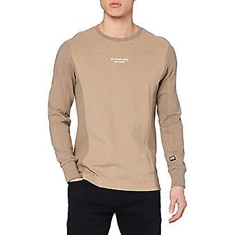 G-STAR RAW Motac Logo T-Shirt, Lt Rock B255-3000, XXL Herr