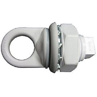 هايوارد SP0404 الأبيض سيكولاك اييبولت الجمعية مع ربطه وطوقا