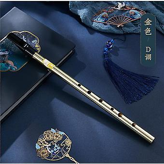 Bambusflöte Anfänger irische Clarionet 6 Löcher Zinn Treble kleine Saxophon Musikinstrument