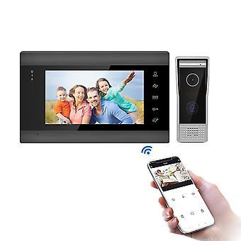 7''white Video Door Phone Intercom System