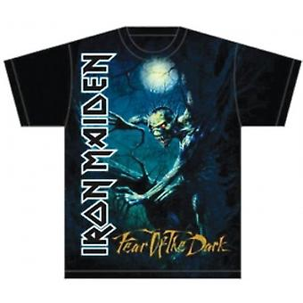 Iron Maiden Frykt for det mørke treet Sprite Mens T Skjorte: La