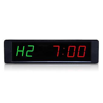 Gym  Timer Workout Interval Gym Training Timer Clock Countdown Stopwatch(black)