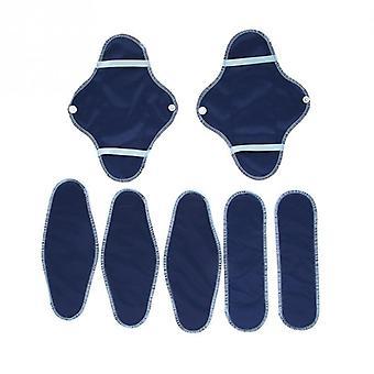 Female Reusable Menstrual Pad Set, Waterproof Sanitary Cloth