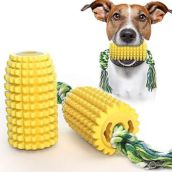 Corn Dog Chew Toys Aggressive Chewers Puppy Teeth Cleaning Dental Rope Toys