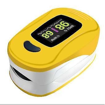 Yellow Fingertip Pulse Oximeter