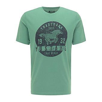 Mustang Shoes Alex C Print 10095406398 universal all year men t-shirt