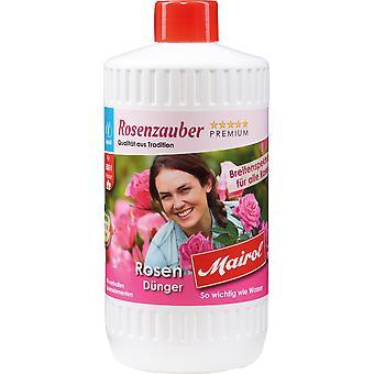 MAIROL Rose Fertilizer Liquid, 1 liter, Rose Magic