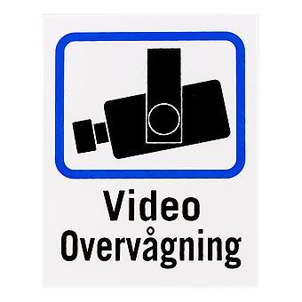 DELTACO Tanskan TV/Video surveillance Kirjaudu sisään muovi, 8x10cm, 2-pakkaus