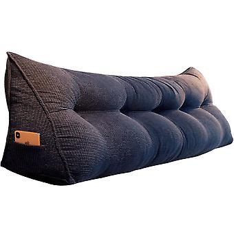 سرير مزدوج واحد المخملية وسادة القضية ديكور المنزل كسول السرير الخلفي وسادة وسادة تغطية لينة أريكة مقعد مقعد السرير الفراش