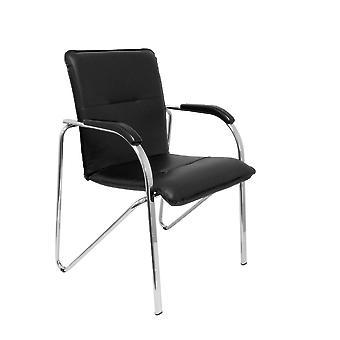 Reception Chair Balsa P&C 2259SPNECR Black (2 uds)