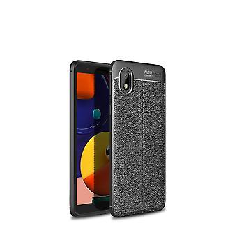 Étui pour Samsung Galaxy A71 5g Flip Housse Handytasche Etui Militaire Pare-chocs antichoc - Argent