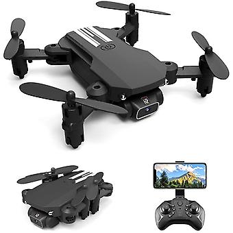 Mini Drone 1080p Hd Caméra Wifi Fpv Altitude Hold Pliable Quadcopter Rc Dron Jouet