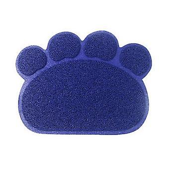 søt kjæledyr hund katt valp parabolen bolle mat vann placemat mat pvc pote form