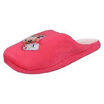Mädchen-Minnie Mouse-Lächeln-Hausschuhe