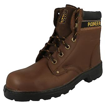 Mens Totectors Leather Lace Up Safety Boots 3906