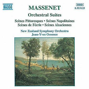 J. Massenet - Massenet: Orchestral Suites [CD] USA import