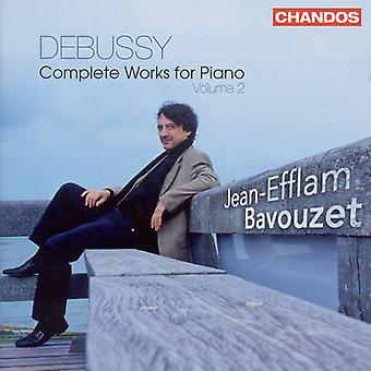 C. Debussy - Debussy: Intégrale des œuvres pour Piano, Vol. 2 [CD] USA import