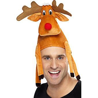 Tampão de chapéu Natal renas chapéu alce rena de Natal