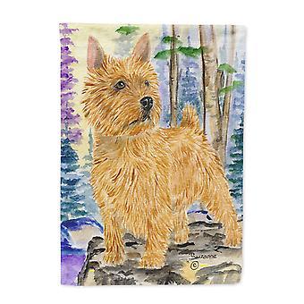 Carolines Treasures  SS8011-FLAG-PARENT Norwich Terrier Flag